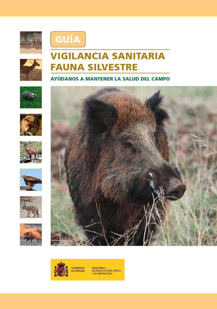 Guía vigilancia sanitaria fauna silvestre